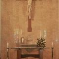 Altar, Book Holder, Sactuary Lamp, Crucifix