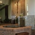 Baptismal Font and Steps